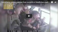 #HeyUnik  Detik-Detik Mencekam Sebelum Bus Jatuh Ke Dalam Jurang #Video #YangUnikEmangAsyik