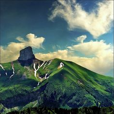 The Alps (French: Alpes; Slovene: Alpe) is the name for one of the great mountain range systems of Europe, stretching from Austria and Slovenia in the east, through Italy, Switzerland, Liechtenstein.