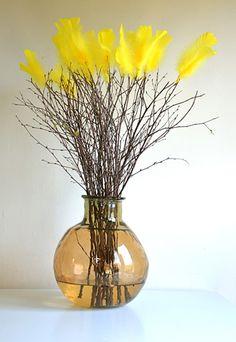 Traditional Swedish Easter Bouquet:  Påskris
