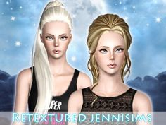 ButterflySims 117 and 116 retextured by Jennisims - Sims 3 Downloads CC Caboodle