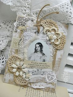 Shabby Chic Inspired with lace.