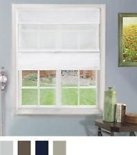 Chicology Cordless Magnetic Roman Shades / Window Blind Fabric Curtain Drape, Li #windowblinds