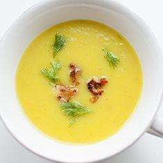 Zupa krem z kopru włoskiego - Przepis