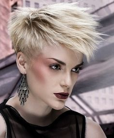 Spiked Haircuts for Women!