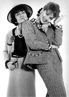 Suzy Parker and Coco Chanel, Richard Avedon
