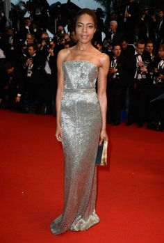 Naomie Harris beautiful at Cannes!