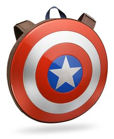 Marvel Avengers: Age of Ultron Captain America Shield Backpack >>> Details can be found by clicking on the image. (This is an affiliate link) Captain America Backpack, Captain America Civil War, Disney Pixar, Strongest Avenger, Stark Industries, Avengers Age, Age Of Ultron, Marvel Comics, Marvel 3