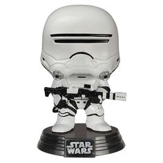 This Flametrooper Pop! figure turns a Flametrooper into a cute, little collectible figure. Star Wars fans, get your Flametrooper Pop! collectible figure TODAY!