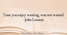 John Lennon Quotes About Time - 68201