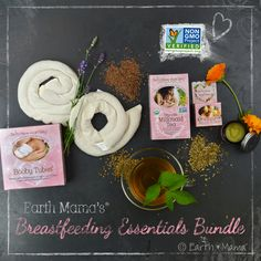 Mama's Breastfeeding Essentials Bundle is a perfect gift filled with all-natural, non-GMO necessities for every breastfeeding mama.