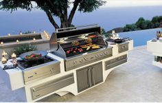 In Outdoor Kitchens ,Cooking Becomes a Real Pleasure