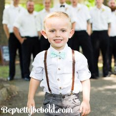 Leather Suspenders Ring Bearer Outfit Brown Leather Suspenders for Men Braces toddler suspenders Rustic wedding Groomsmen Outfit boys kids Leather Suspenders Newborn-Adult PU Brown Suspender Men's. Bowtie And Suspenders, Leather Suspenders, Bowties, Martha Stewart, Toddler Outfits, Kids Outfits, Rustic Wedding Groomsmen, Groomsmen Outfits, Ring Bearer Outfit