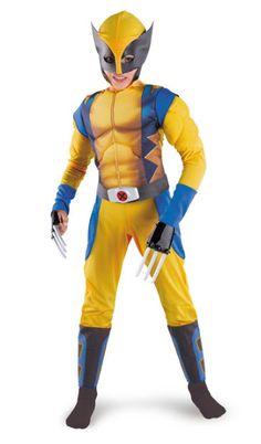 Wolverine Costume - Kids Costumes
