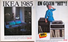 Here's a look at how the Ikea catalog has changed over the past 62 years. The takeaway: let's all live in the Furniture Ads, Vintage Furniture, Furniture Design, Vintage Ads, Evolution, Feng Shui, Ikea Catalogue, Kids, House