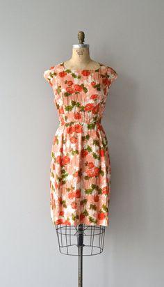 Fresh Poppy dress vintage 60s dress floral print by DearGolden