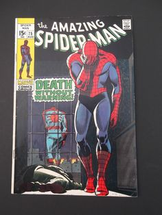 Amazing Spider-Man #75! Silver Age! 1969! Marvel! Stan Lee! John Romita!