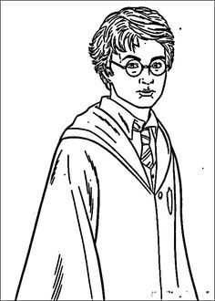free printable Harry Potter Coloring Pages Enjoy