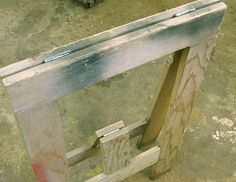 folding saw horse - Google Search