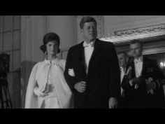 September 12, 1953 - The Wedding of John F. Kennedy & Jacqueline Bouvier in Color - YouTube