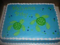 Turtle baby shower~