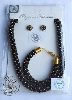 Kup mój przedmiot na #vintedpl http://www.vinted.pl/akcesoria/bizuteria/12551900-komplet-bizuterii-hand-made