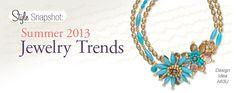 Style Snapshot: Summer 2013 Jewelry Trends