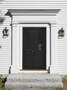 Front Door Surround On Pinterest Black Doors Front Doors And Front