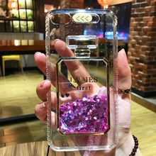 Moda TPU Duro de la Cubierta de Bling Del Brillo Para El Coque iPhone 7 plus plus 6 Botella de Perfume de Arenas Movedizas Caja Del Teléfono para el iphone 6 6 S 7 Más(China)