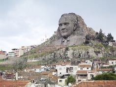 Ataturk Mask Buca 132 ft. 19 Of The World's Largest Statues - Gallery | eBaum's World