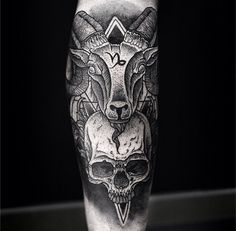 CAPRICORN TATTOO BY DANIEL MEYER