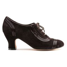 """Claremont"" 1930s Oxfords (Brown)(1925-1945)"