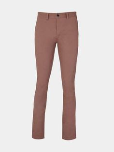 Pink Stretch Chinos - Mens Chinos - Clothing - Burton