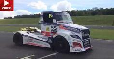 Porsche Cayman GT4 Gets Pawned By Buggyra Freightliner Race Truck #Drag_Racing #Porsche