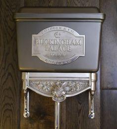 High Level Chadder Blenheim Toilet, Bespoke Cistern finished in Satin Gun Metal. Avalible as a Low Level toilet cistern or High. Custom cistern colours and finishes #luxurybathroom #luxury #bath #toilet #bespokecistern #toilet #cloakroom #chadder #luxurybathroom #luxurytoilet #love #cistern #bespokecistern #highleveltoilet #loo #sink #basin #taps #nickeltap #interior #interiordesign #bathroomdesign #design #cistern #bespokecistern #bespoketoilet