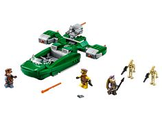 Deploy the Naboo forces into battle with the agile Flash Speeder!