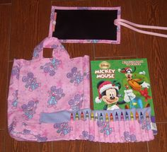 Abby Cadabby little artist set crayon roll by ChildishThoughts