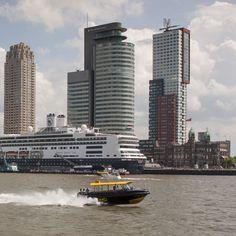 Geweldige taxi service op het water! Dit is een fantastische manier om Rotterdam te ontdekken! The Netherlands http://www.rotterdam.nl/tekst:taxi_and_ferry