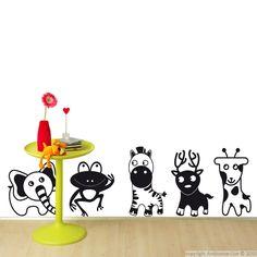 Sticker petite grenouille - Stickers déco enfants | Ambiance-sticker.com