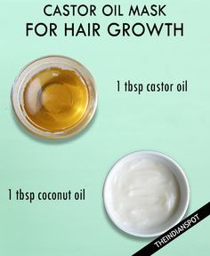CASTOR COCONUT HAIR MASK FOR HAIR GROWTH It is best to mix castor oil with an equal amount of a base oil like coconut oil to get a better consistency and enhance the benefits. Rub it on your scalp and massage. Leave it on for 30 to 45 minutes. Finally, rinse it out and shampoo …