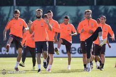Di nuovo in campo dopo #OlympiacosJuve - Back to work following #OlympiacosJuve - Juventus.com