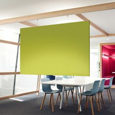 ARCHITECTS air | Space dividers | acousticpearls