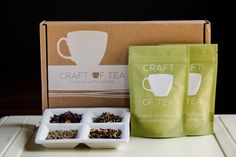 try our new tea package for #craftoftea  #tea