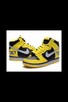 separation shoes 6d619 9d972 Nike Dunk High Custom Spongebob Black Yellow cheap Nike Dunk Low, If you  want to look Nike Dunk High Custom Spongebob Black Yellow you can view the  Nike ...