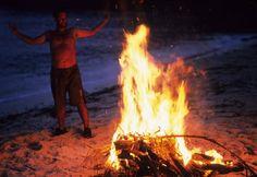 """Castaway - Tom Hanks """"I have made fire!"""""""