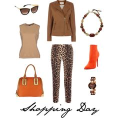 """""""Women's Shopping Day Outfit"""" by angelarcher5 on Polyvore"""