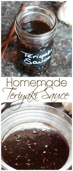 Making your own Homemade Teriyaki Sauce is incredibly easy, fast, and can be customized to your own taste!