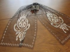 zeynep (1) Needlework, Knitting Patterns, Pearl Necklace, Cross Stitch, Textiles, Embroidery, Quilts, Pearls, Jewelry