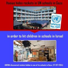 """WOW! Hillary Claims Hamas Fires Rockets From Schools Because """"Gaza Is Small"""" (Video), 7/29/14...and she wants to be President?"""