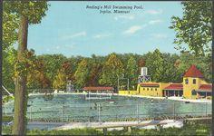 Joplin MO Redings Mill Swim Park and Swimming Pool Curteich Card 3B362N Joplin News Unsent | Flickr - Photo Sharing!