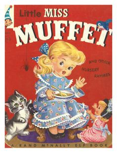 Little Miss Muffet This my young friends was what I got as a treat from the Dentist!